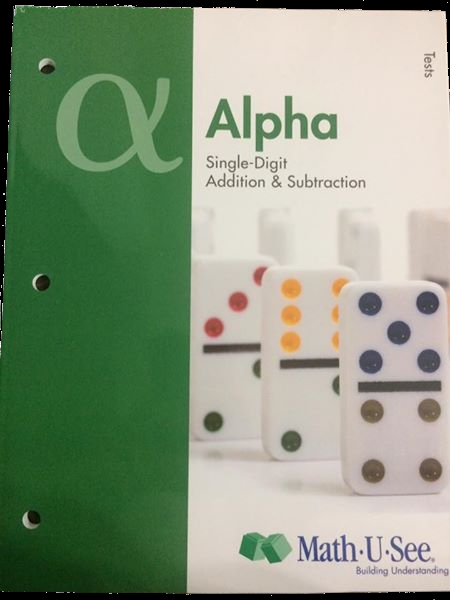 Math-U-See complete curriculum textbook