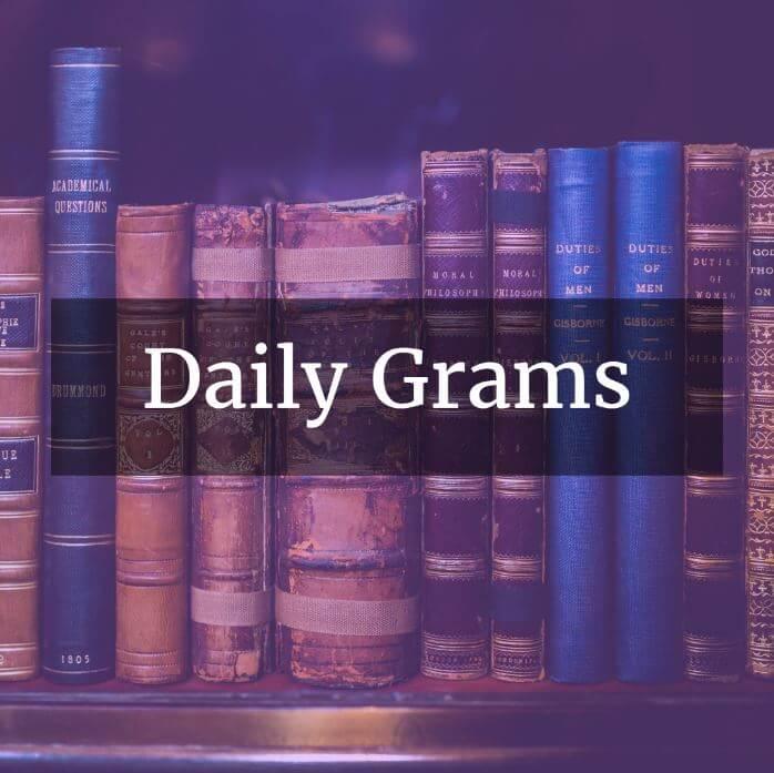 Daily Gram workbooks by Easy Grammar