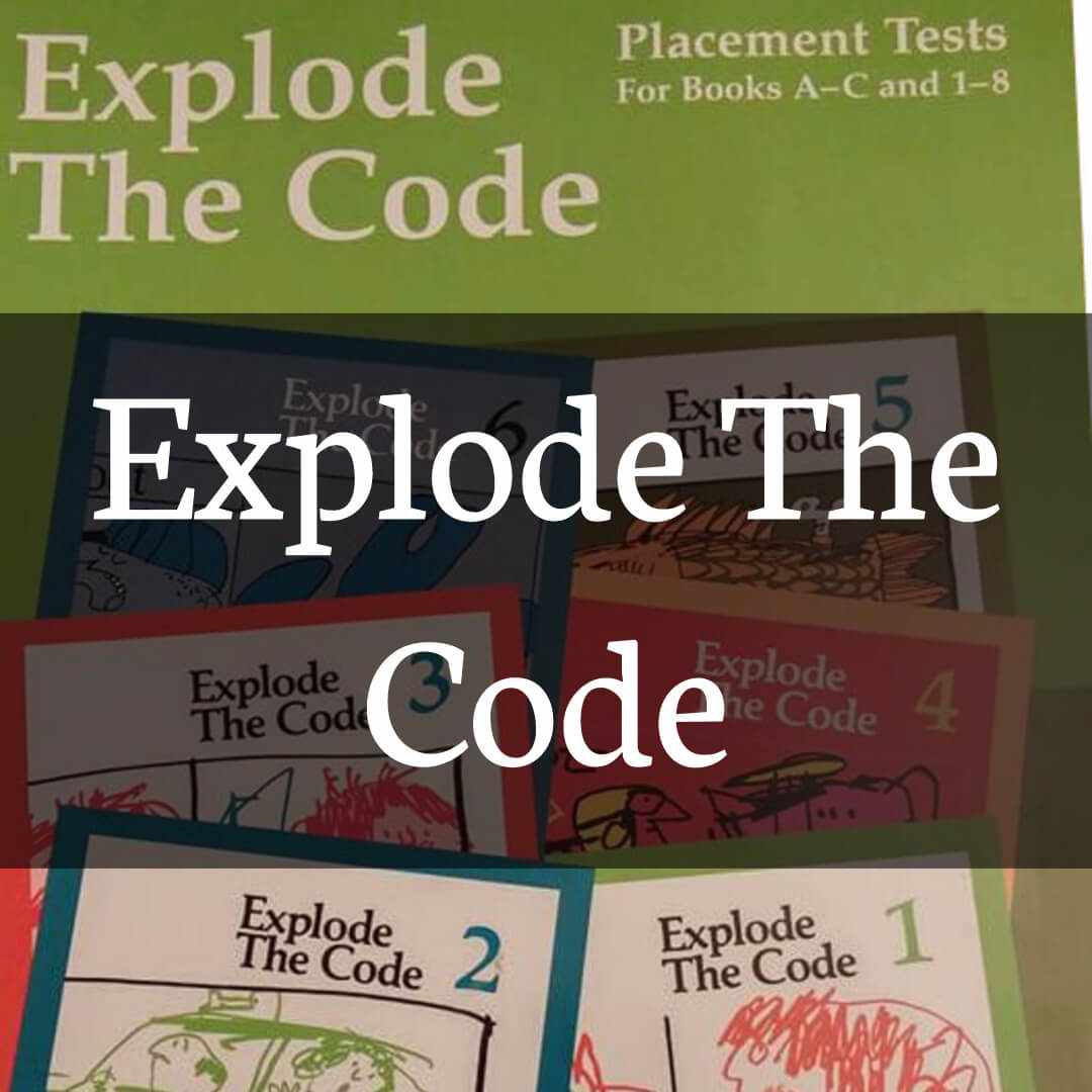 Explode the Code Curriculum Series