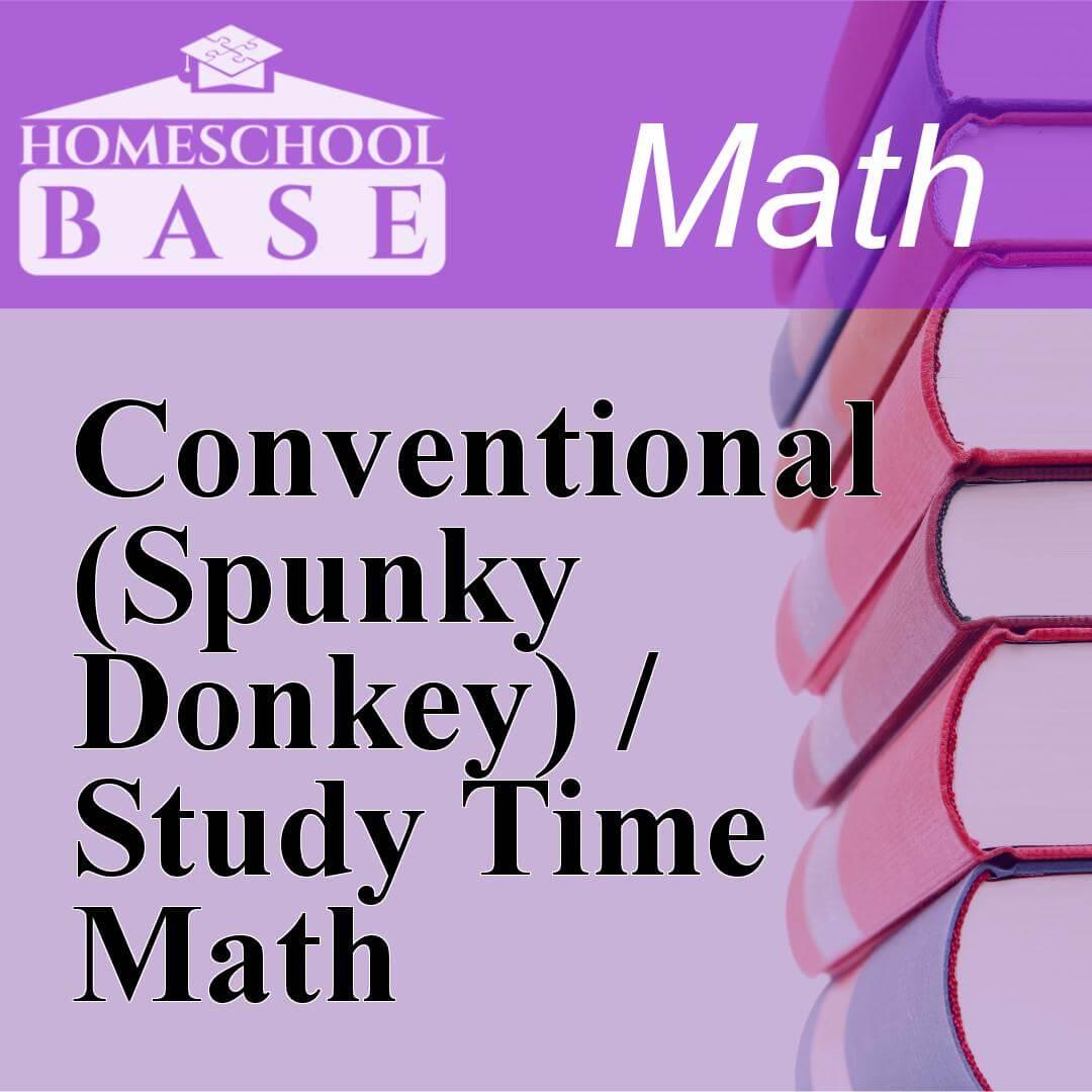 Conventional (Spunky Donkey) / Study Time MathCurriculum