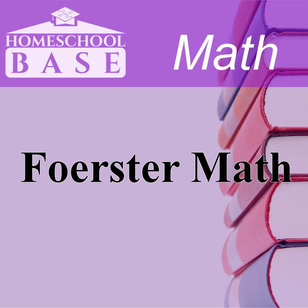 Foerster MathCurriculum