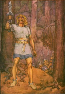 an overview of the anglo saxon civilization in the epic poem beowulf Beowulf civilization and   i will be giving an overview of beowulf and information on the author  beowulf is an anglo-saxon epic poem that originated in.