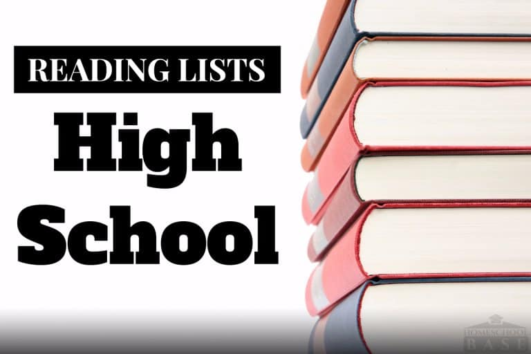 Suggested High School Reading List - Must Read High School Books