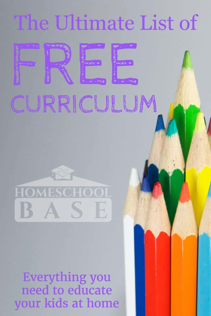 Free Homeschool Curriculum - The Ultimate Resource List