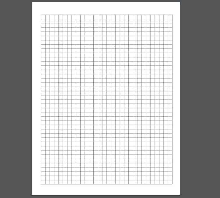 Digital Graph Paper. Aida 14 Cross Stitch Graph Paper, Grid