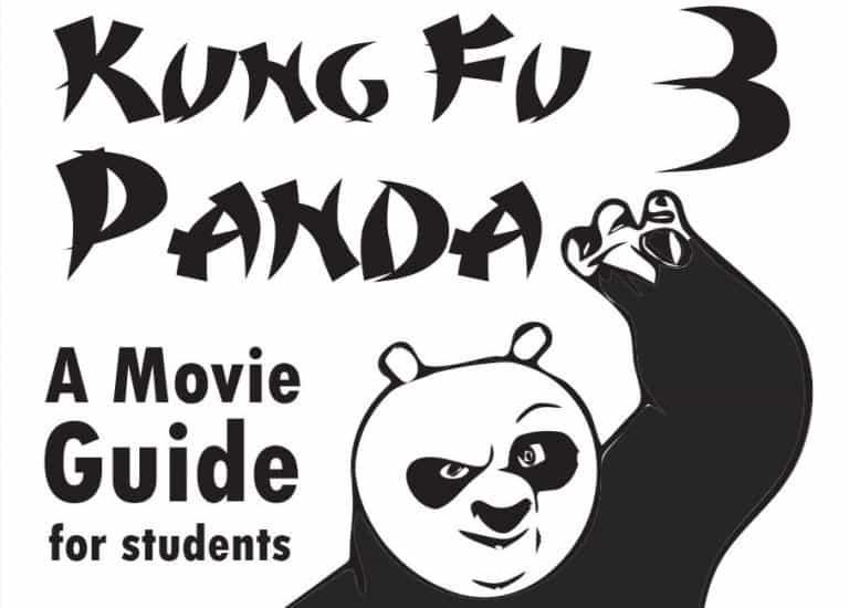 Kung Fu Panda 3 Movie Guide for Students