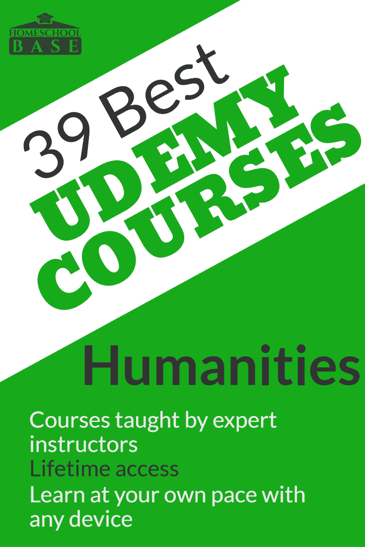 39 Best Humanities Courses from Udemy