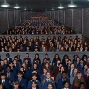 Classroom of children from Pink Floyd's The Wall