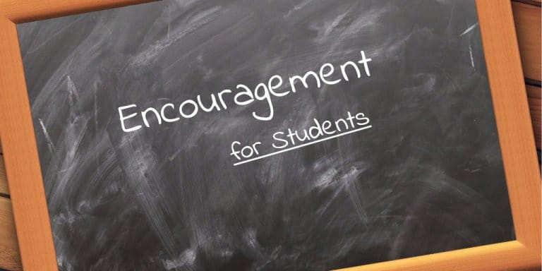 Words of Encouragement for Students