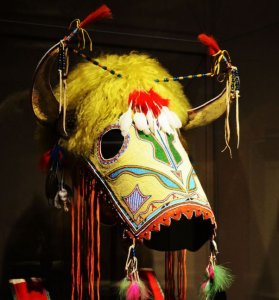 Kiowa horse mask 2010 - Smithsonian National Museum of the Native American