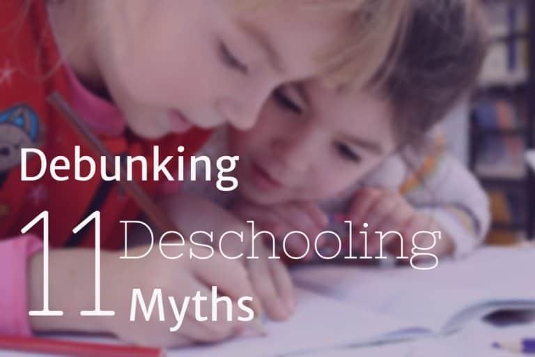 Debunking deschooling myths
