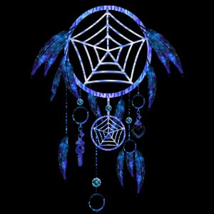 Dream Catchers are a Native American tradition. They are said to catch bad dreams before they can reach you.