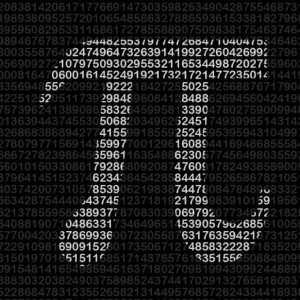 math pi image with numbers