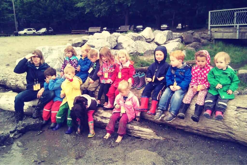 An expensive preschool class fieldtrip