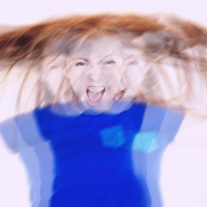 A child with ADD screaming