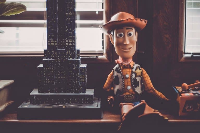 Woody the cowboy from Toy Story