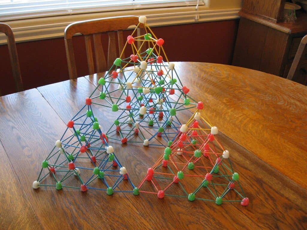 Gumdrop structures can be surprisingly strong.
