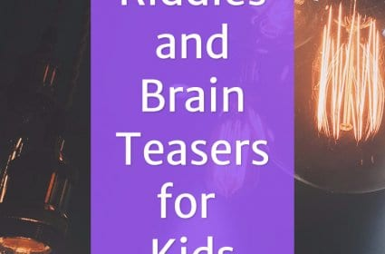List of Riddles and Brain Teasers for Kids