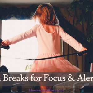 A huge list of brain breaks for the home, classroom, individual, or group