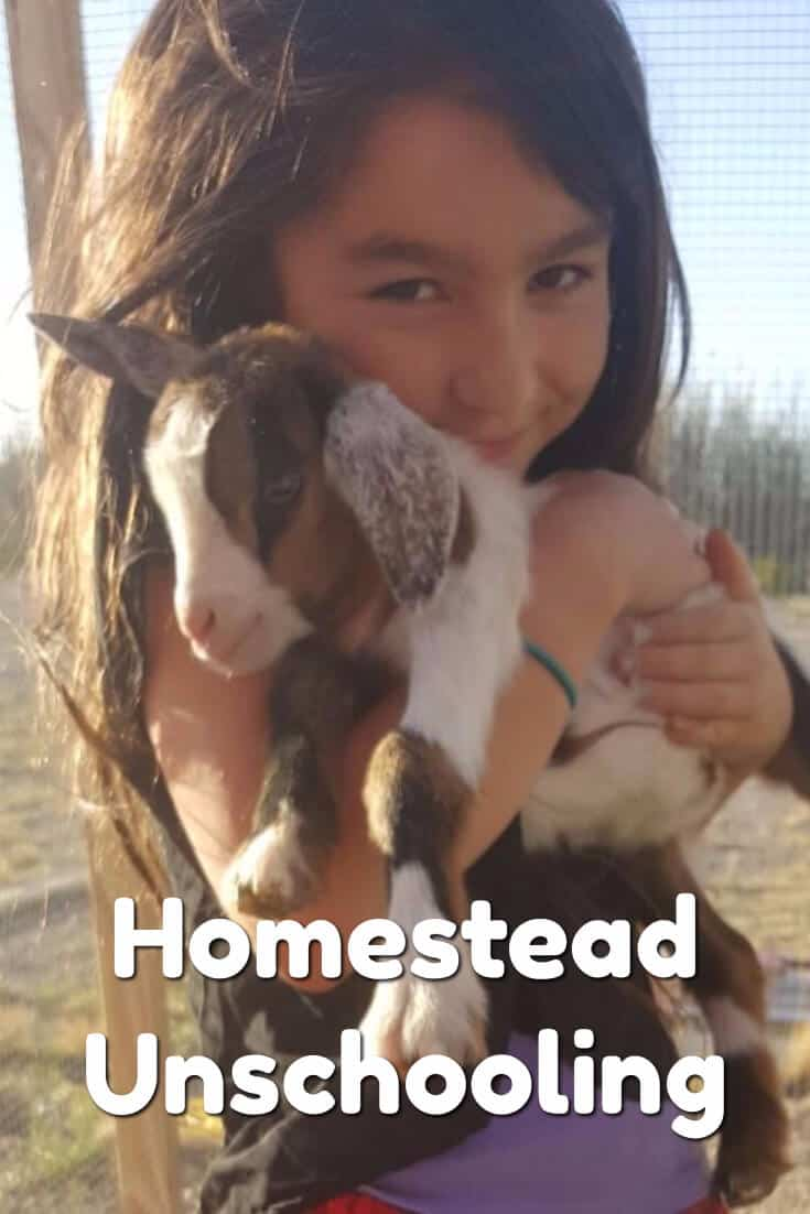 This is what homestead unschooling looks like first hand
