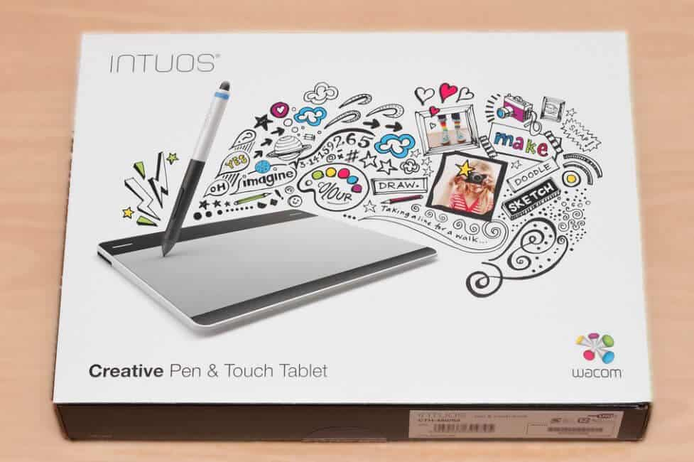 intuos drawing tablet new in box