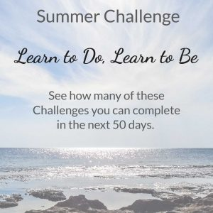 The Learn to be Summer Challenge