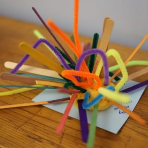 Activities like arts and crafts for preschoolers