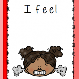 Flash Card - Angry