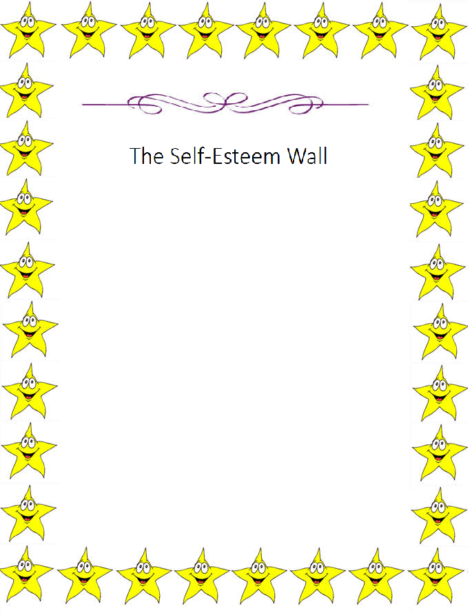 Self-Esteem Wall Printable