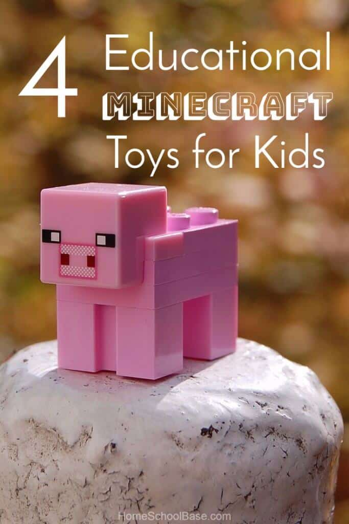 4 educational minecraft toys for kids