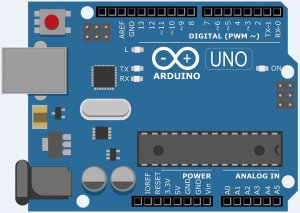 This is the new Arduino Uno R3.