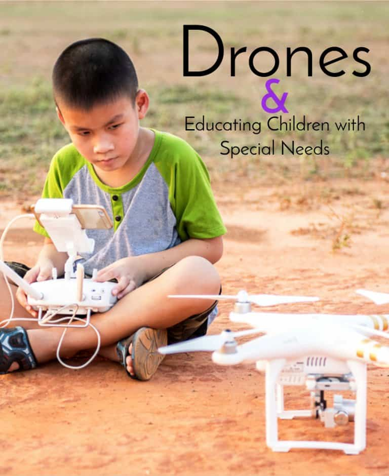 Drones and Special Ed.