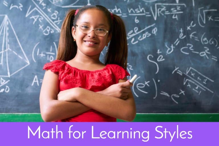 She will be happier if you teach math according to her learning style