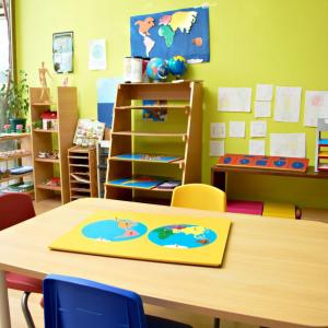 One homeschool's classroom for doing homework