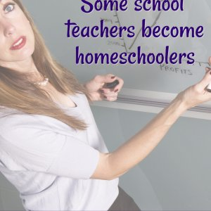Advantages of teachers that become homeschool moms