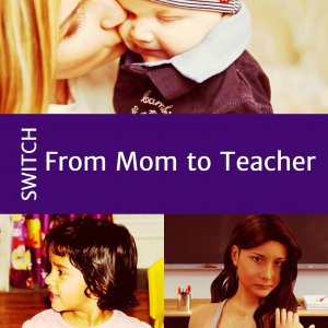 Switching between two roles: parent and teacher